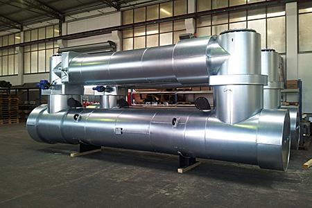 Теплообменник выхлопные газы вода Кожухотрубный испаритель Alfa Laval DM3-516-2 Махачкала