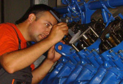 Gas engines maintenance